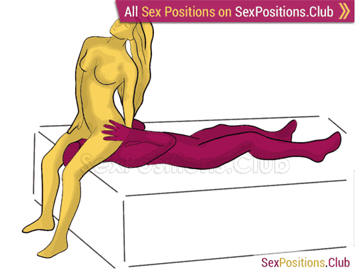 Valedictorian on the bed sex position